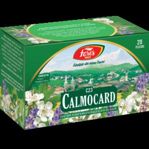 calmocard ceai 20dz