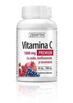 vitamina c 1000mg cu rodie 60 30cps