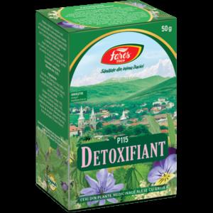 detoxifiant purificarea organismului ceai 50g
