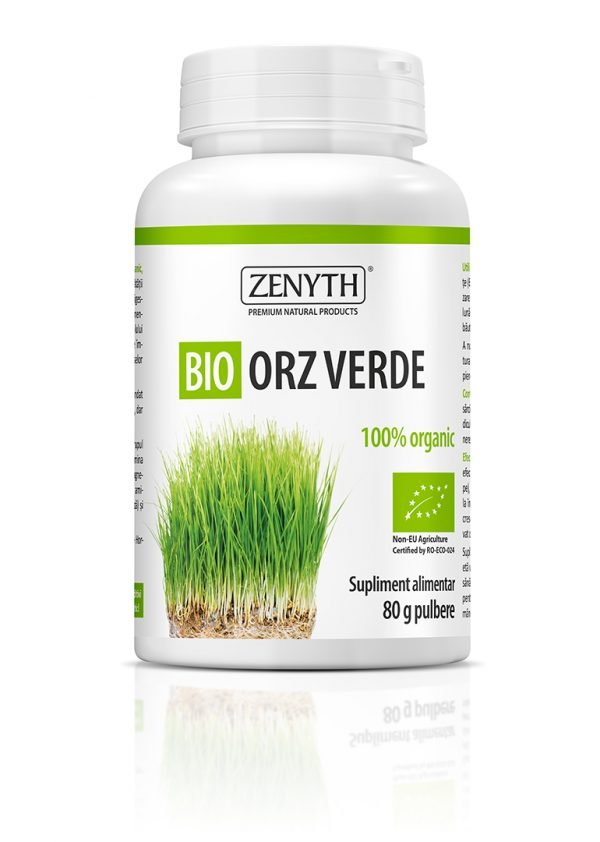 Bio Orz Verde Pulbere 80g