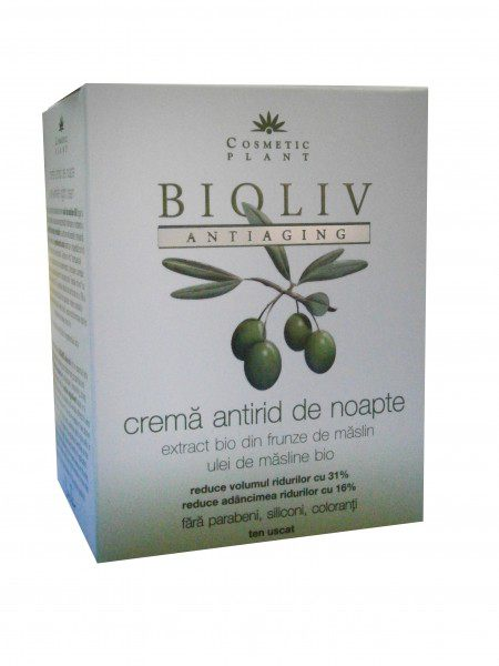 BIOLIV Antiaging Crema Antirid de Noapte 50ml