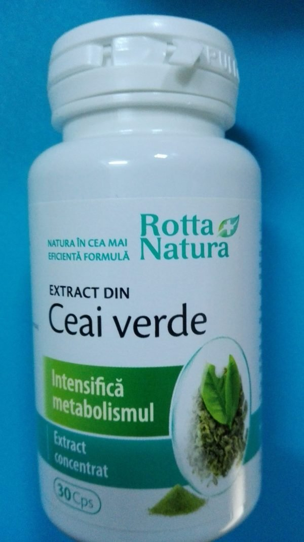 Ceai verde extract 30cps