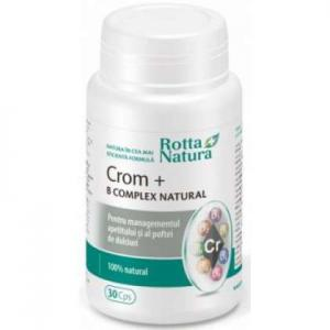 Crom+B Complex Natural 30cps