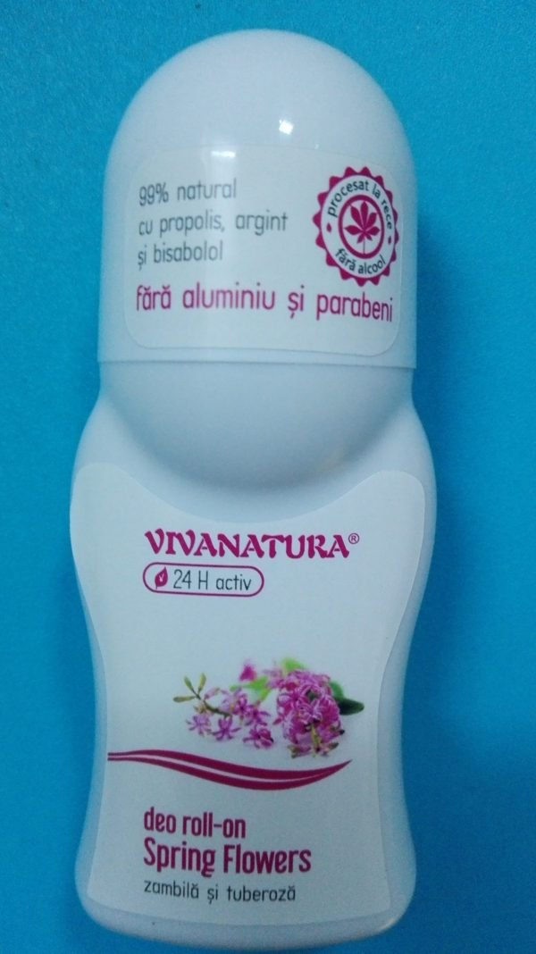 Deo Roll-On Spring Flowers 50ml