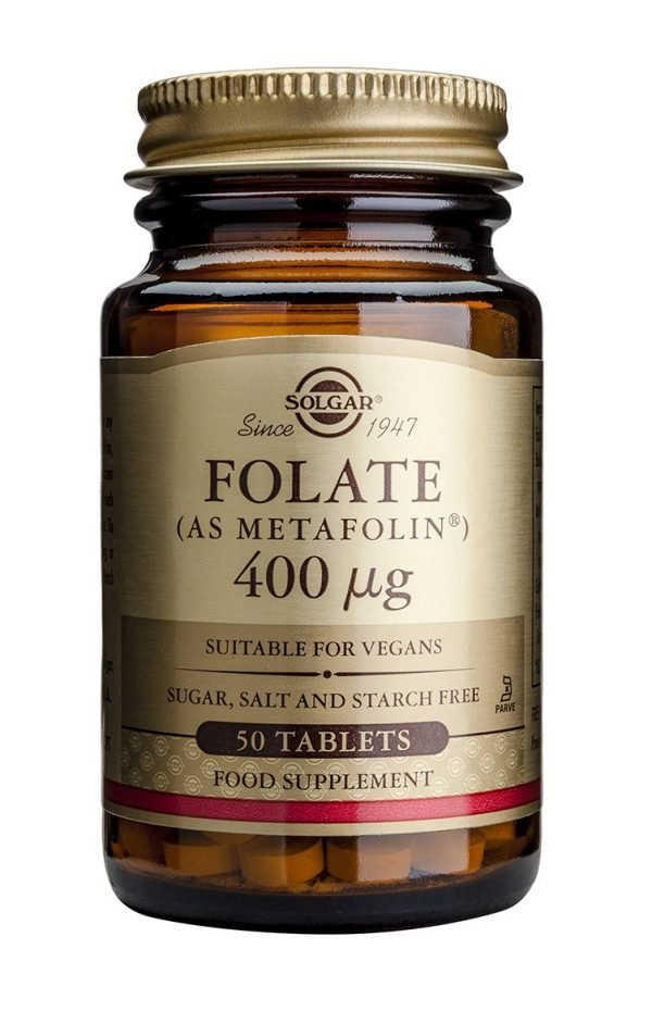 Folate (Acid Folic) sub forma de Metafolin 400mcg 50tb