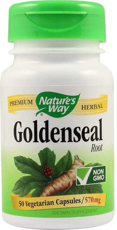 Goldenseal Root 570mg 50cps