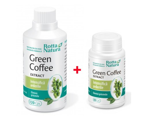 Green Coffee Extract 120+60cps