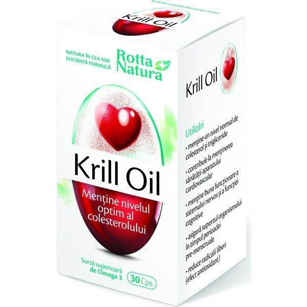 Krill Oil 500mg 30cps