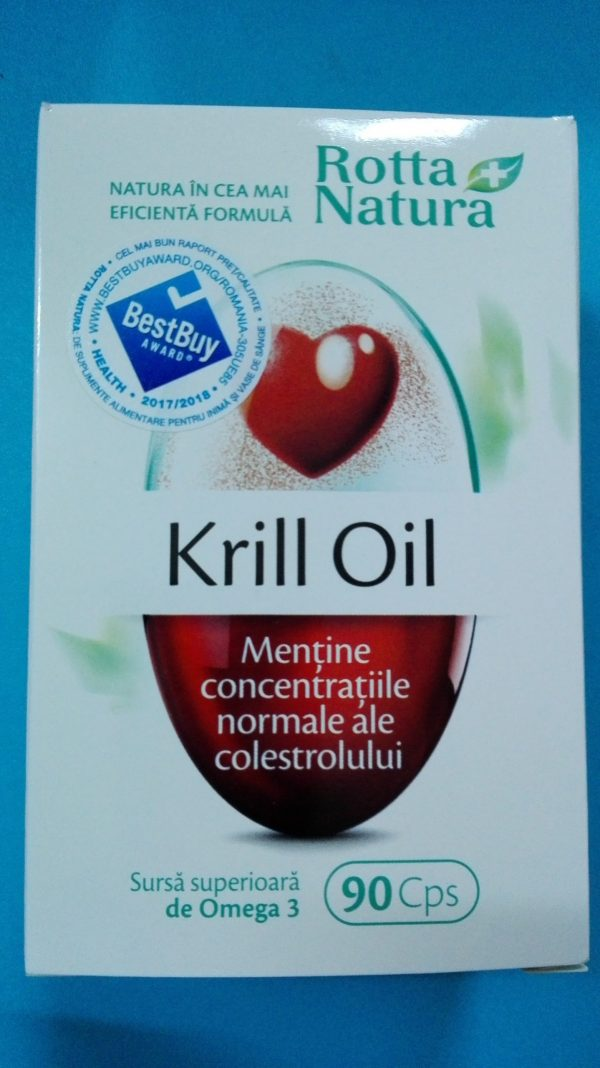 Krill Oil 500mg 90cps