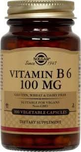 Vitamin B6 100mg 100 veg.caps