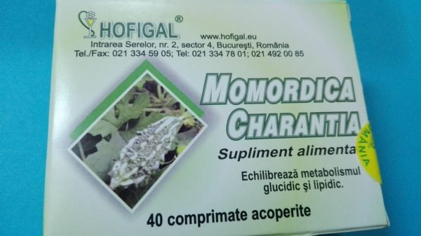 Momordica Charantia 500mg 40cpr