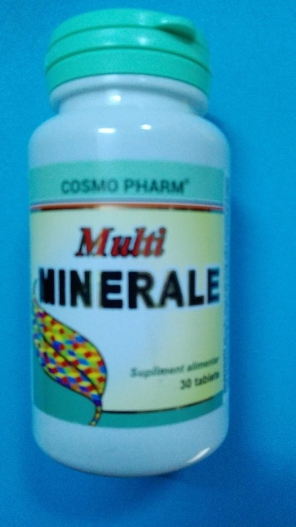 Multiminerale 30cps