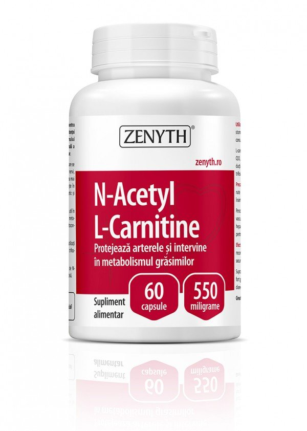 N-Acetyl L-Carnitine 550mg 60cps