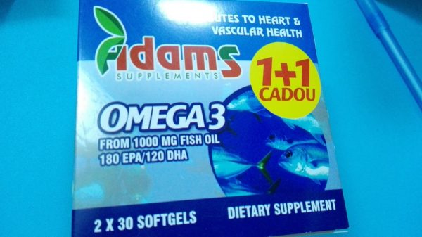 Omega 3 1000mg 2x30cps
