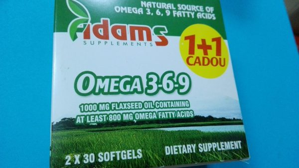 Omega 3 6 9 (Flaxseed Oil) 1000mg 2x30cps