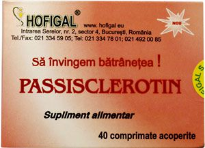 Passisclerotin 40cpr