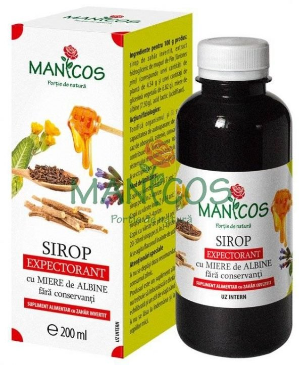Sirop Expectorant cu Miere 200ml