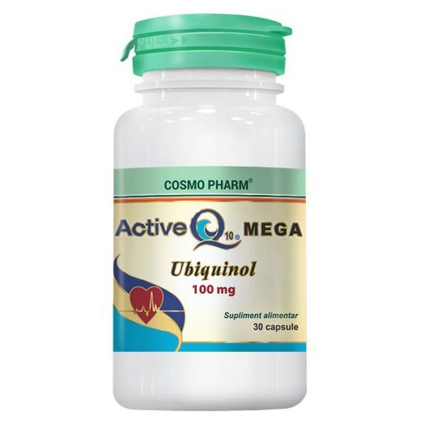 active q10 mega 100mg 30cps