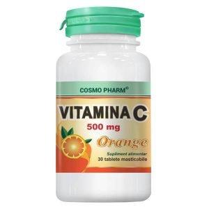 vitamina c 500mg orange 30tb