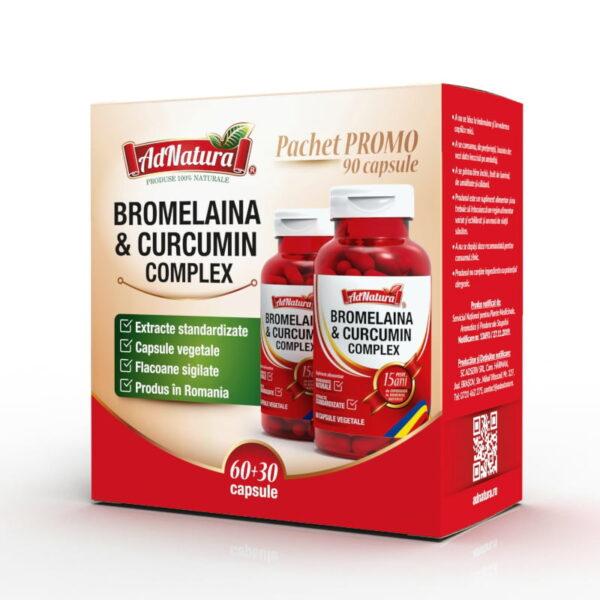 bromelaina curcumin complex 60 30 capsule
