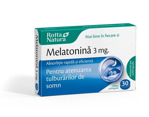 melatonina 3mg 30tb sublinguale